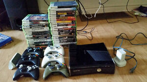 Xbox 360 slim 250g package
