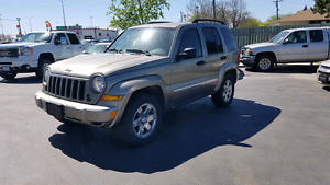 2007 4x4 Jeep Liberty Safetied
