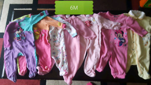Baby girl clothes lot 6-12 months