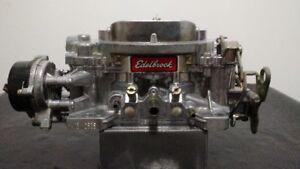 Rebuilt Edelbrock 600 CFM Carb with Electric Choke #1406