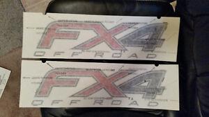 2012 /14 FORD F150 - FX4 DECALS - $50 O.B.O