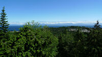 Spectacular ocean and mountain view - North Nanaimo