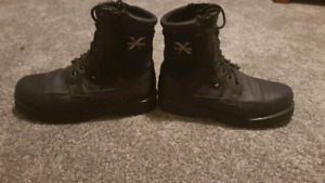 10.5 mens motorcycle boots like new