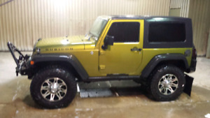 2008 Jeep wrangler rubicon willing to trade