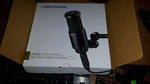 Audio Technica AT2020 XLR Mic Used Complete In Box