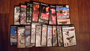 PS2 GAMES- $5