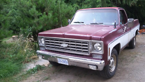 1976 Chevrolet Silverado 1 owner bought new in Los Angeles