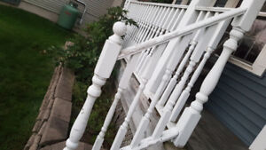 RAILING AND SPINDLES