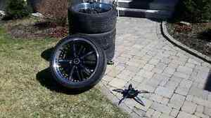 """22"""" Wheels with Tires"""