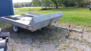 10 Foot Double Snowmobile Trailer