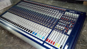 Soundcraft GB4 24 Channel Mixing Console