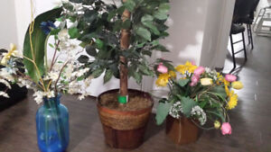 Artificial Plant and Flowers to decorate home-$50 only