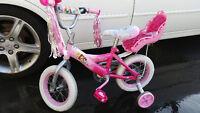 Vélo pour fille de ''Princesse'', peu utilisé