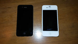 2 mint Iphones 4S, 8gb, Rogers (each $80, both for $150, obo)