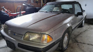 1990 Ford Mustang LX convertible MINT