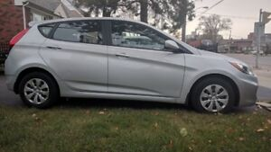 2015 Hyundai Accent 4 Dr Hatchback – only 12,178 kms - $13,500