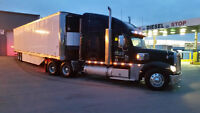 Single truck driver class 1 Montreal-Florida 0.44 CAD+Tax / mile