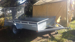 6 x 10 SPORT LITE HEAVY DUTY GALVANIZED TRAILER