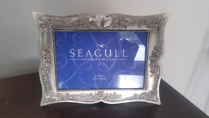 Seagull Pewter Picture Frame
