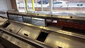 Chip shop 2 pan range