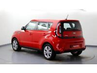 2015 Kia Soul 1.6 CRDi Connect Diesel red Automatic