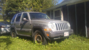 2006 Jeep liberty renegade for parts 1000$