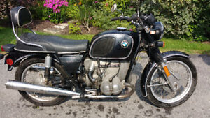 1976 BMW R60/6 AIRHEAD *VINTAGE MOTORBIKE * CAFE RACER PROJECT?