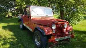 Jeep pick up 1981