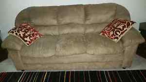 Two Sofas and Crystal Lamps Cambridge Kitchener Area image 2