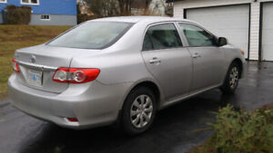 trade 2012 toyota corolla for pick up