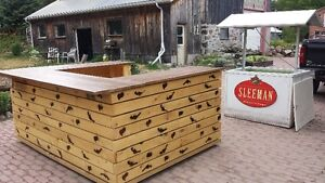 Great back yard Bar and Ice Chest. Peterborough Peterborough Area image 4