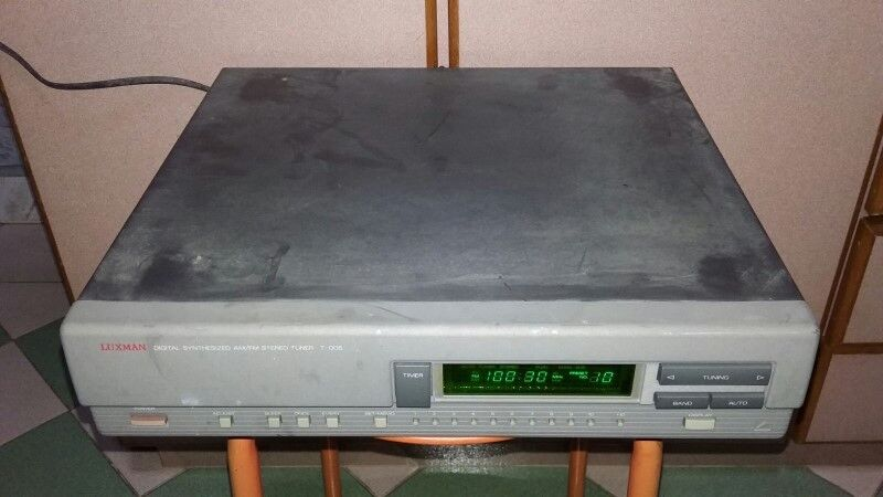 EXTREMELY RARE VINTAGE LUXMAN T-005 DIGITAL FM TUNER MADE IN JAPAN.