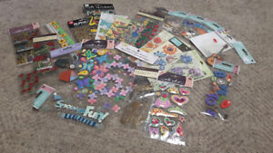 22 Unopened Packs of 3D Stickers