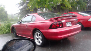 1997 Ford Mustang Hood racing Coupé (2 portes)