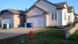 Detached 5 bedroom house, 3 full baths, double garage, back yard