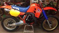 1986 CR500 cr 500 cr500r not kx500 Kx Yz Rm