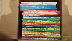 Set of Dr Seuss Oversized books