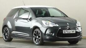 image for 2015 DS DS3 1.2 PureTech 110 DStyle 3dr EAT6 Auto Hatchback petrol Automatic
