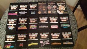 VINTAGE WWF WRESTLING VHS LOT