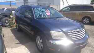 2005 pacifica awd cert etested 170k $2995