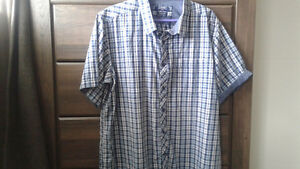 Men's plaid shirt size 2xl