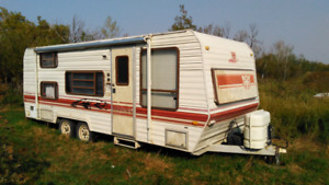 23ft Prowler Camping Trailer