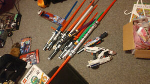 Lightsabers and other Star Wars Toys, costumes -  Best Offer