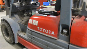 Toyota propane Fork Truck at AUCTION!