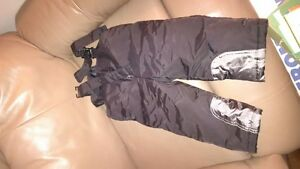 3 pairs of snow pants 18mths and 2x size 2