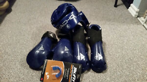Macho and Century sparring gear set