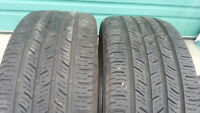 Selling 2 Continental size 225 45 17 all season tires