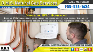 Need Heating or Cooling Services?! - DMS is here to help