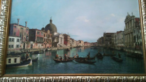 "Canaletto - ""Artist enhanced"" Print"