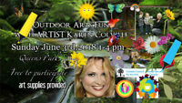 Family  Outdoor Fun Arts Day New West Minster June 3rd,2018 1pm